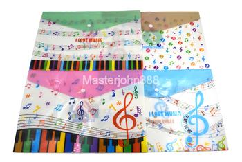 """3 sztuk muzyka fortepianowa arkusz uwaga A4 jest twój plik uchwyt na dokumenty Folder przezroczyste plastikowe proszę kliknąć na przycisk """" aktówka dla studentów muzyk piosenki pisarz tanie i dobre opinie Master John Kalafonii"""