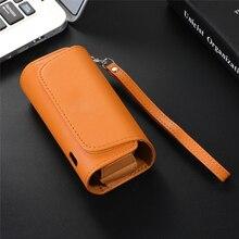 Чехол для электронной сигареты Iqos 3,0, кожаный чехол Iqos3 DUO, портативный чехол с веревкой для хранения сигарет