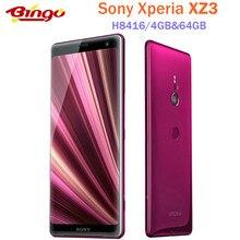 Sony – smartphone Xperia XZ3 H8416, téléphone portable, 4G LTE, écran de 6.0 pouces, Octa core, 4 go de RAM, 64 go de ROM, appareils photo de 19 et 13 mpx, NFC, empreintes digitales