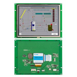 Камень 8 дюймов HMI промышленная панель управления программируемый ЖК-дисплей с контрольной доской + программа + UART серийный интерфейс