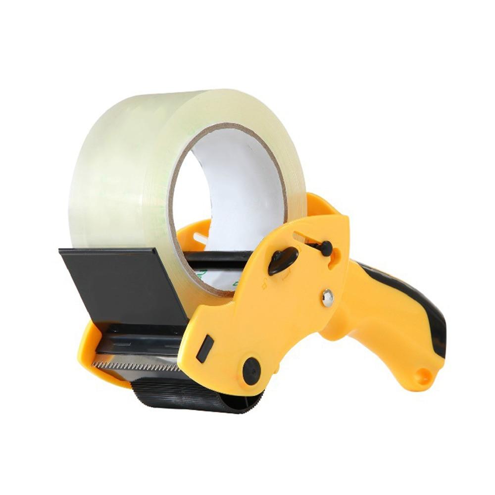 Taper Cutter Transparent Adhesive Tape Dispenser School Desktop Blue Washi Tape Holder Packing Dispenser Office Supplies