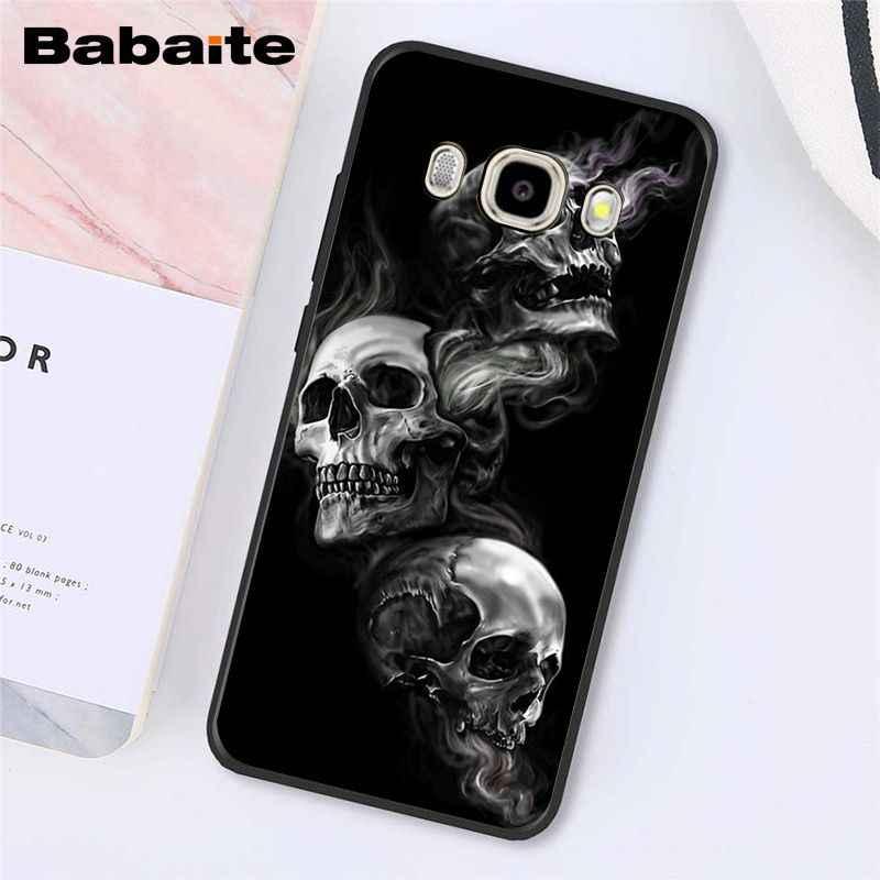 Babaite ponury żniwiarz czaszka etui na telefon do Samsung Galaxy J7 J6 J8 J4 J4Plus J7 DUO J7NEO J2 J5 Prime