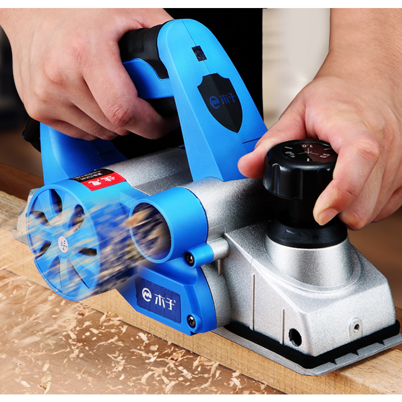 Electric Planer Powerful Wooden Handheld Planer Carpenter Woodworking File Tool Home DIY Power Tools Kit 850W 1000W 1280W