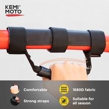 KEMiMOTO Black Roll Bar Grab Handle Hand Hanging UTV For Polaris RZR 900 RZR XP 1000 For CAN AM Commander Maverick 800 1000