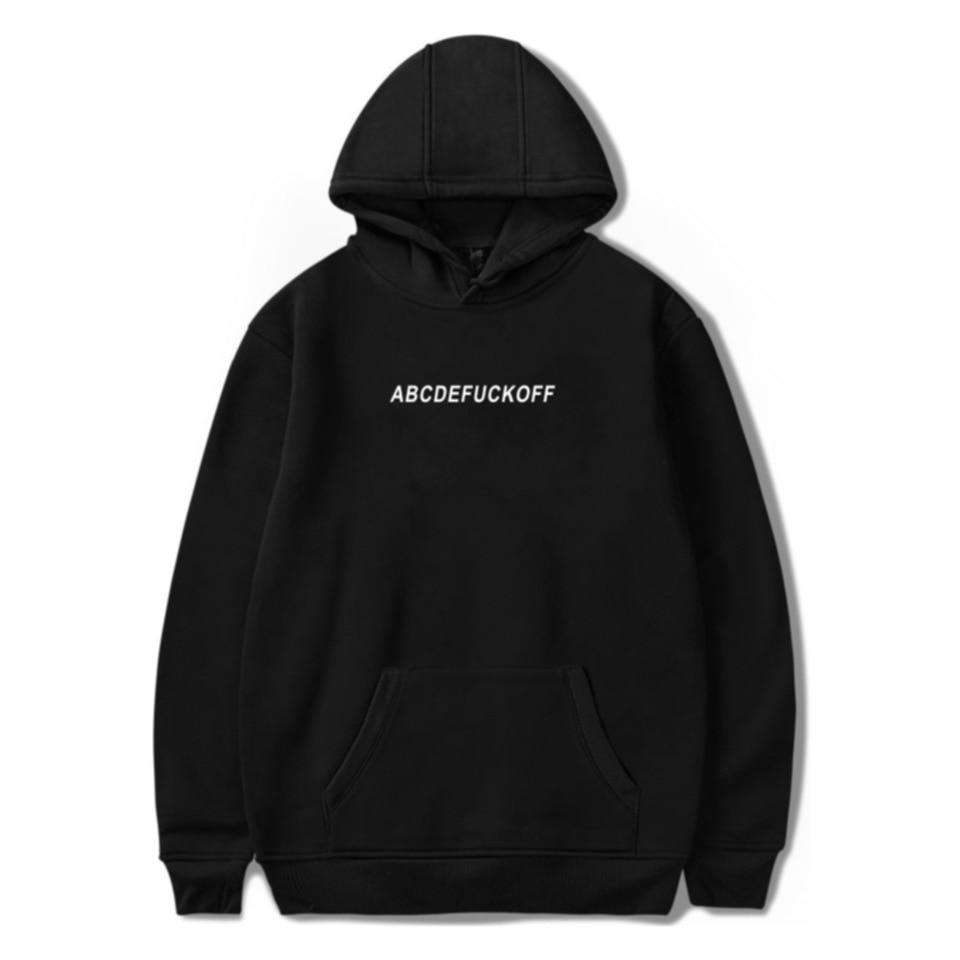 2019 ABCDEFUCKOFF Hoodie Sweatshirts Women Tumblr Funny Letter Print Hoodies Jumper Graphic Sweatshirt Fashion Streetwear Outfit