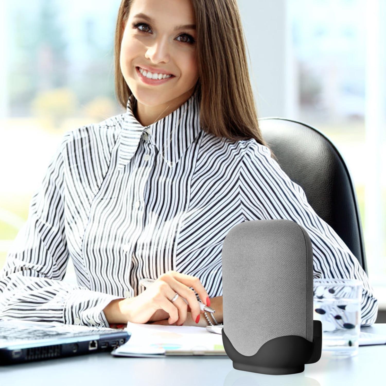 Wall Mount / Bracket for Google Nest Audio Speaker - Built in Cord Management Stable Stand Smart Speaker Holder Accessories 6