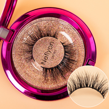 цена на Neflyonlashes Luxurious 100% Real Mink Hair False Eyelashes High Quality Fluffy Eye Lashes Natural Thick Faux Lash Hot Selling