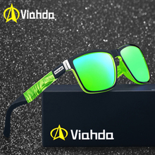 Viahda Brand Design Polarized Sunglasses Men Driving Shades Male Sun G
