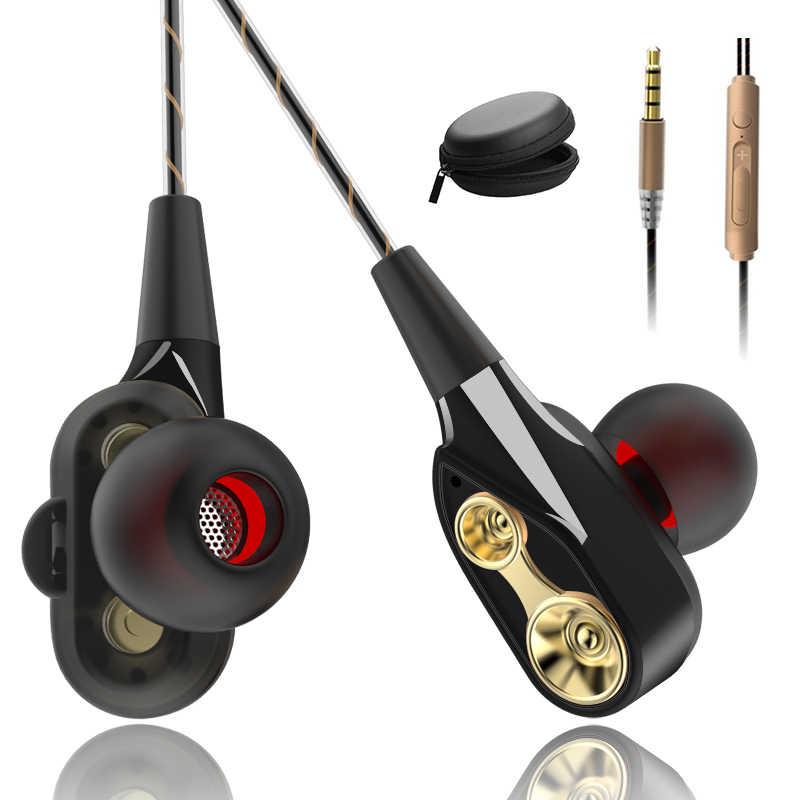 Wired אוזניות בתוך אוזן אוזניות אוזניות בס אוזניות עבור IPhone 7 סמסונג Huawei Xiaomi 3.5mm ספורט משחקי אוזניות עם מיקרופון
