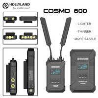 HOLLYLAND COSMO 600 600FT sistema profesional transmisor receptor inalámbrico HD Video transmisión 1/4-20 tornillo agujero 3G SDI HDMI