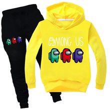 Conjuntos de roupas de bebê crianças 2-16 anos terno de aniversário meninos fatos de treino crianças entre nós ternos do esporte hoodies topo + calças 2pcs conjunto