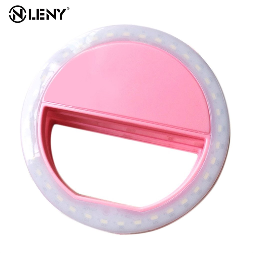 Flash-Light Led-Ring Mobile-Lens 36-Leds-Selfie-Lamp Macro iPhone Portable Luminous HD title=