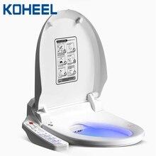KOHEEL asiento de baño inteligente, tapa de inodoro eléctrico, bidé inteligente, limpieza en calor, masaje en seco, asiento de inodoro inteligente
