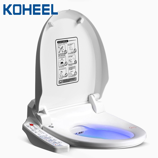 KOHEEL インテリジェント便座電気ビデカバーインテリジェントビデ熱クリーンドライマッサージスマート便座