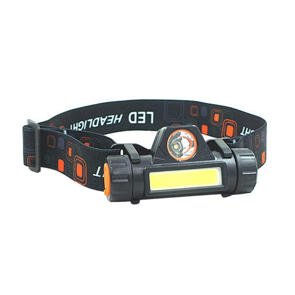 Outdoor COB LED Headlamp USB Rechargeable Flashlight Mini Headlight Torch Lamp Headlamp USB Rechargeable Flashlight