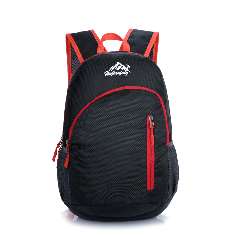 Casual Outdoor Bag Men And Women-Ultra-Light Sports Bag Backpack Foldable Mountaineering Bag Waterproof Portable Backpack
