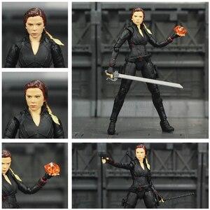 """Image 1 - Avenger 4 Endgame veuve noire 6 """"figurine infini pierres Soul gemme Scarlett Johansson légendes modèle de jouets de poupée SHF de KO"""