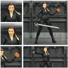 "Vengador 4 final viuda negra 6 ""figura de acción piedras infinito alma Gem Scarlett Johansson leyendas KO SHF juguetes de la muñeca modelo"