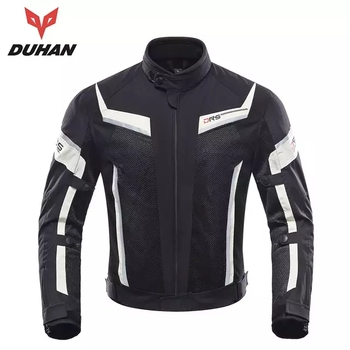DUHAN Motorcycle Racing Jacket Men Pants Motocross Suit Moto Motorbike Clothes with CE Protective Jackets