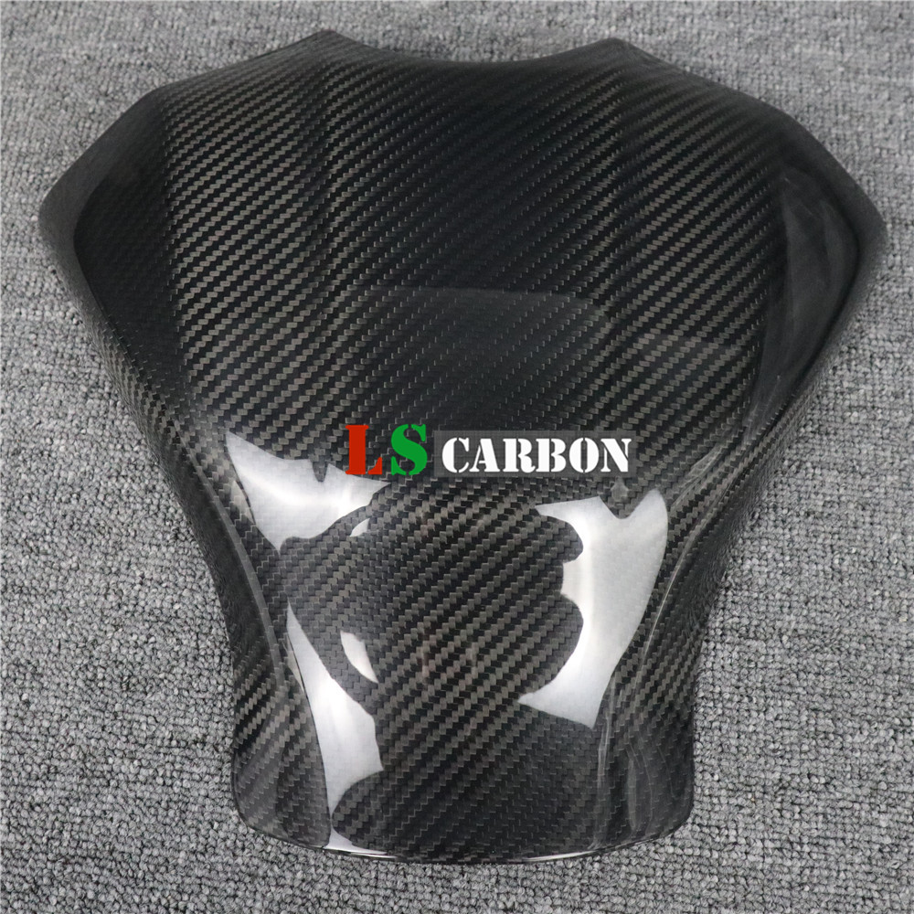 Full Carbon Fiber Motorcycle Accessories Tank Cover Fairing(cover) For Yamaha R1 2015-2018 2019+