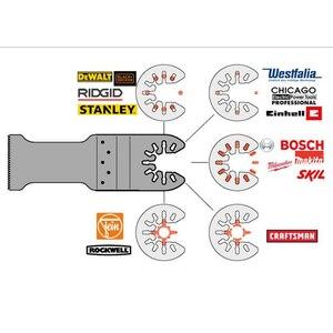 Image 2 - 25 Pcs Multifunctionele Polijsten Driehoekige Schuurmachine Schuren Lakens + Schuren Pad Voor Oscillerende Power Tool Accessoires