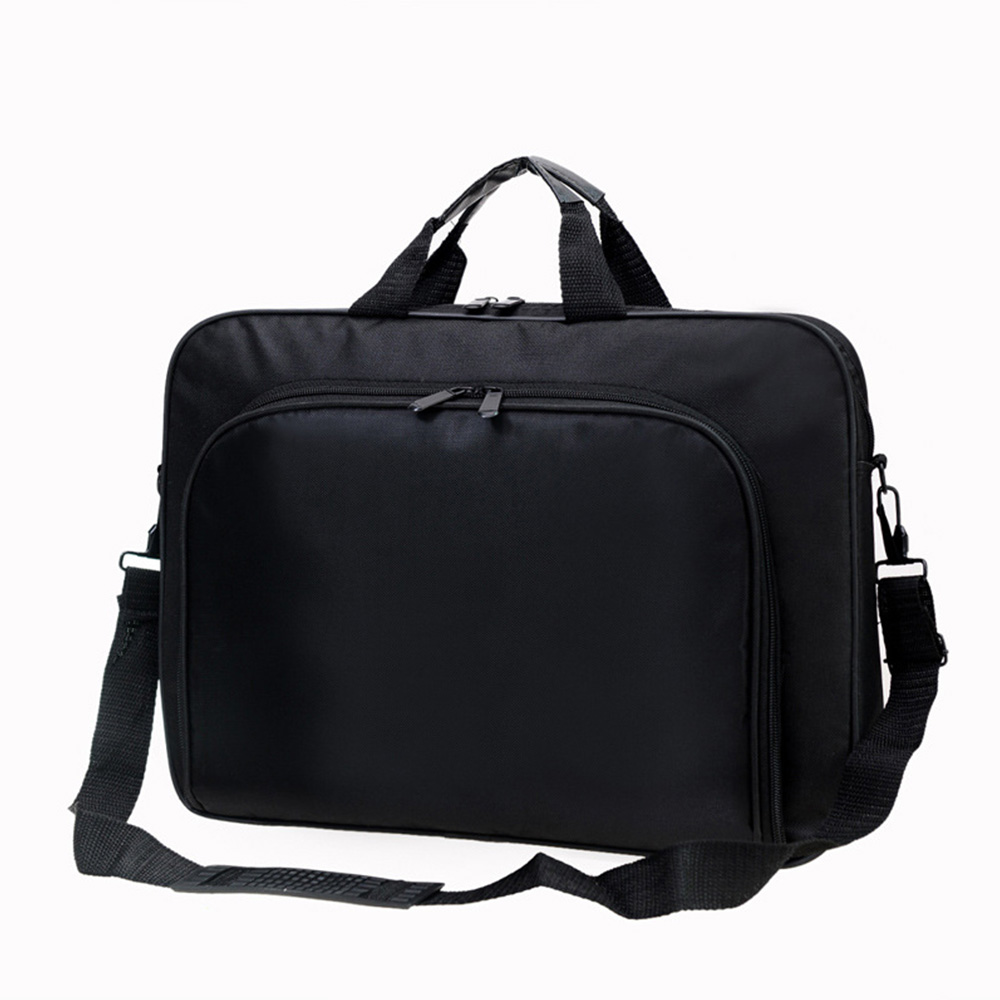 Simple Men Briefcases Business Waterproof Nylon Computer Bag Handbags Portable Zipper Shoulder Laptop Bags Men Shoulder Bags