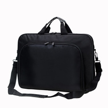 Simple Men Briefcases Business Waterproof Nylon Computer Bag