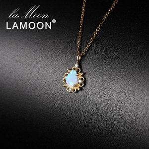 LAMOON 925 Sterling Silver Oct