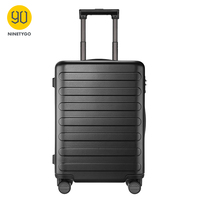 Ninetygo 90FUN pc スーツケース 28 インチキャリーにスピナーホイール荷物 tsa ロック女性男性スクールカレッジビジネス -