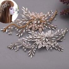 Великолепные свадебные аксессуары для волос topqueen hp277 повязка