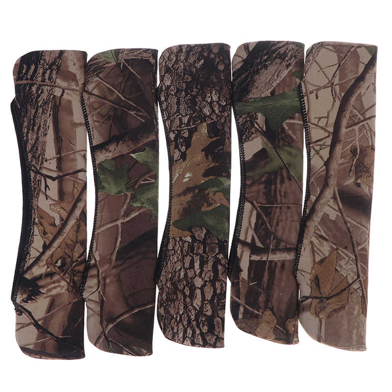 Scope Cover Gun Rifle Camouflage Hunting Accessories Neoprene Protect Scope Cases Hunt Color Random