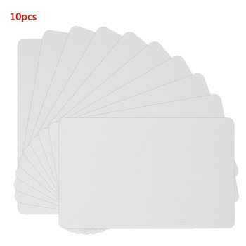 10PCS NFC NTAG215 White Card For TagMo Tags Chip Stickers Tag Lable Forum Type2 Sticker for Enabled Devices  - discount item  17% OFF Access Control