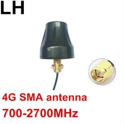 4G OMNI screw thread antenna 700-2700MHz LTE no ground SMA antenna 4G high gain RG174 SMA antenna