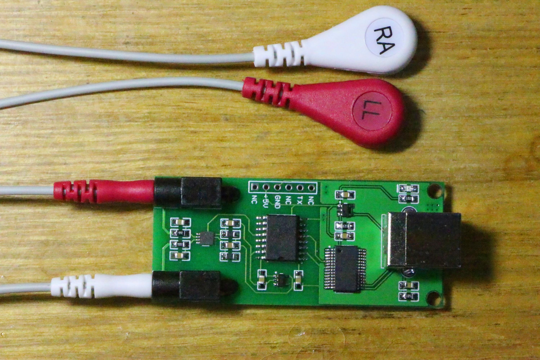 USB ECG Acquisition Module BMD101 Module ECG Measurement Board Heart Rate Acquisition Module