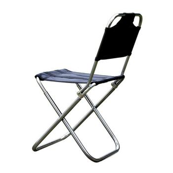 portable aluminum folding chair stool seat outdoor fishing camping picnic padded folding chair fishing Camping Chair Outdoor Folding Chair Aluminum Alloy Fishing BBQ Stool Folding Stool Portable Picnic Travel Chair