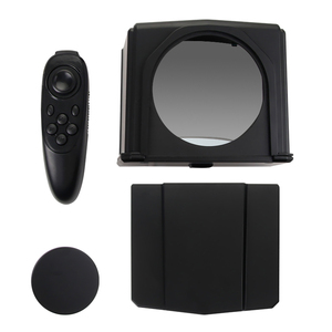 Image 5 - Smartphone טלפרומפטר עבור Canon Nikon Sony DSLR מצלמה תמונה סטודיו עבור Youtube ראיון וידאו לחשן צג טלפרומפטר