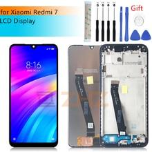 """ل شاومي redmi 7 شاشة الكريستال السائل مجموعة المحولات الرقمية لشاشة تعمل بلمس ل redmi 7 lcd استبدال أنف العجل 632 إصلاح أجزاء 6.26"""""""