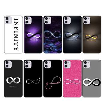iphone 11 case INFINITY case coque fundas for iphone 11 PRO MAX X XS XR 4S 5S 6S 7 8 PLUS SE 2020 cases cover image