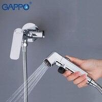 GAPPO Bidets bidet wc sprayer muslimischen dusche wc wasser bidet mischbatterie wand montieren ducha higienica