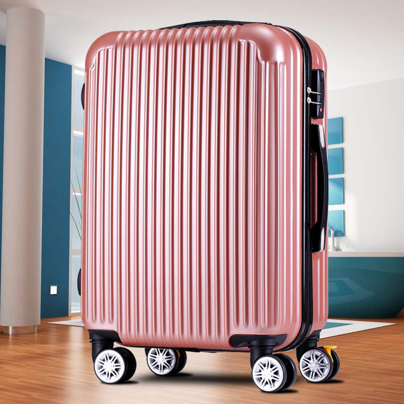 Gift Customization Luggage 360 Degree Swivel Suitcase Wheel Leather Suitcase Travel Trolley A Generation Of Fat 20-Inch Boarding