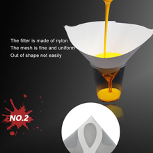 FILTER Funnel Strainers Universal Onever 50PCS Paper-Paint Cone Mesh Conical
