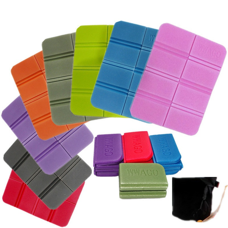 38*27cm Outdoor Cushion Foldable Foam Cushion Portable Picnic Cushion Waterproof Moisture-proof Multi-color Optional