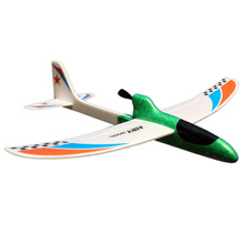 Toy Children Streamline Gift Capacitor Hand Throwing Electric Educational Model Funny Diy Glider Foam Rc Airplane