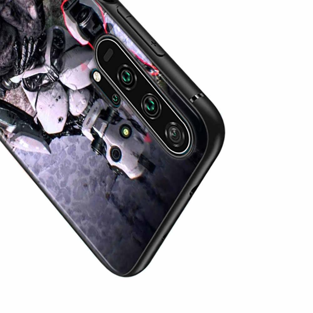 أسود غطاء سيليكون الحب الموت الروبوتات تلفزيوني لهواوي الشرف 10i 9X8X20 10 9 لايت 8 8A 7A 7C برو لايت جراب هاتف
