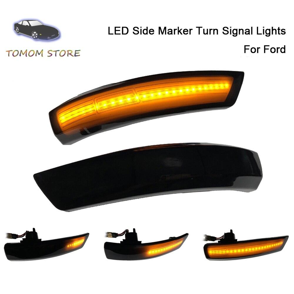 2 pcs dinamico transformar a luz do sinal led asa lateral espelho retrovisor indicador blinker luz