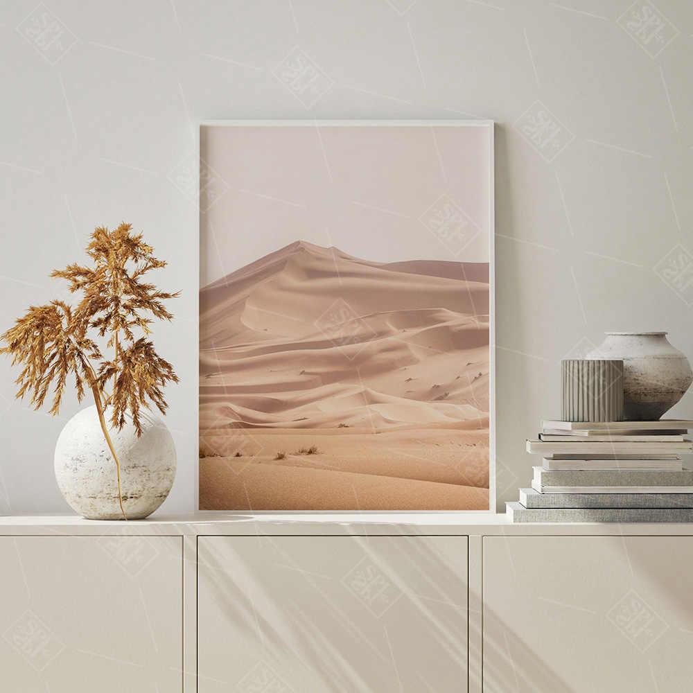 Marokko Deur Camel Desert Landschap Nordic Posters En Prints Muur Art Canvas Schilderij Muur Foto Voor Woonkamer Home Decor