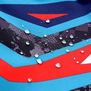 Image 5 - Sportyเรขาคณิตพิมพ์ชุดเด็กขนแกะเด็กเสื้อเด็กหญิงเสื้อเด็กOuterwearสำหรับ98 152ซม.