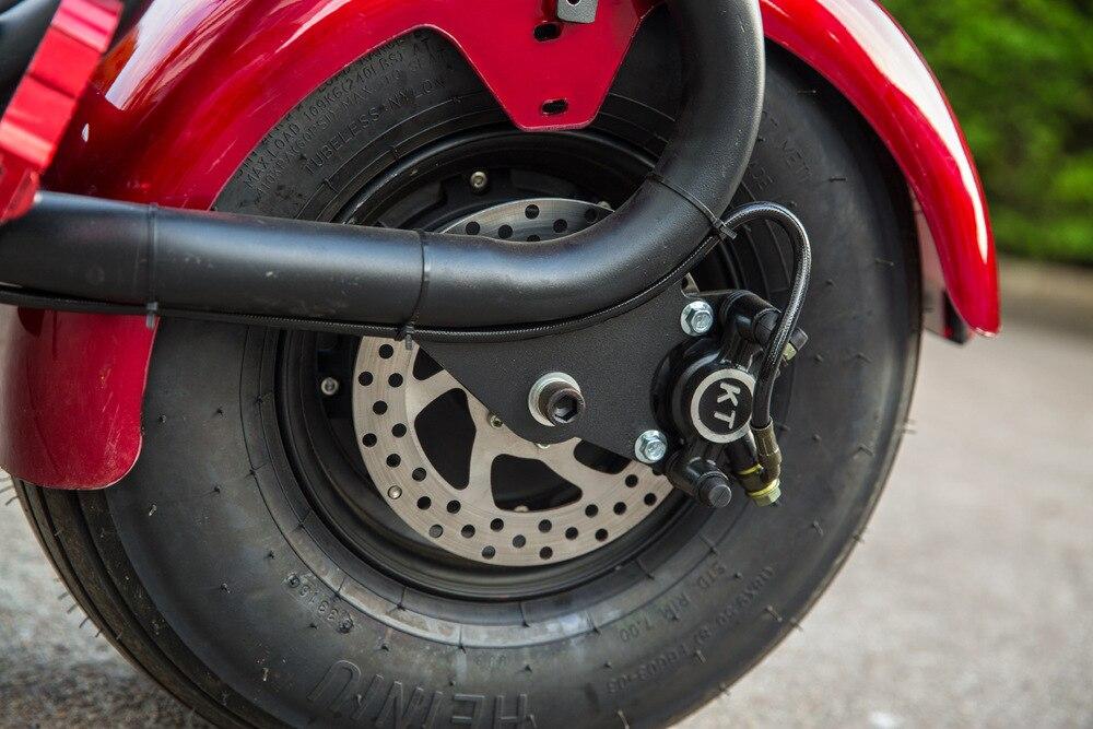 1500W 60V Scooter Drive Motor Rad e bike Hub Motor Elektrische Motorrad Citycoco Roller Elektrische Fahrrad Motor Rad - 4