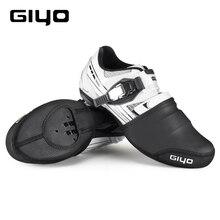 Теплые велосипедные Чехлы GIYO для бега и езды на велосипеде, с защитой от дождя, для мужчин и женщин, зимняя обувь для езды на велосипеде, MTB, дорожный велосипед, чехлы для обуви