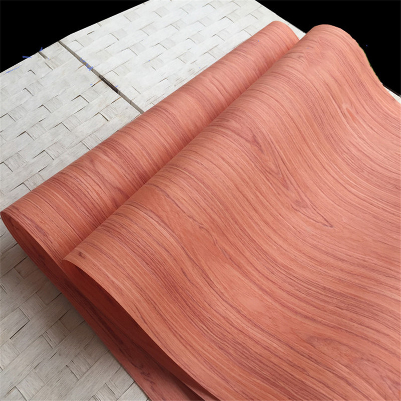 2x Technical Veneer Sliced Wood Engineering Veneer E.V. Santos Rosewood 62cm X 2.5m  0.2 Thick C/C